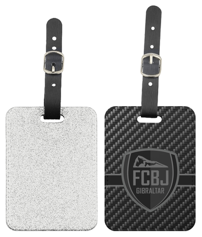 Fc Boca Carbon Luggage Tag