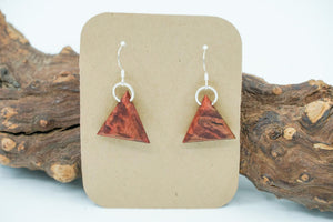 Redwood Burl earrings