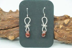 Mahogany Obsidian and Silver
