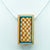 Lattice Checkerboard Pendant