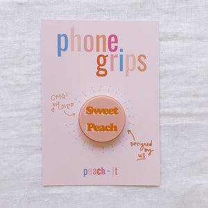 Sweet Peach Phone Grip