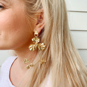 Maya Flower Earring