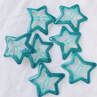 Starry Eyes Hair Clip - Ocean