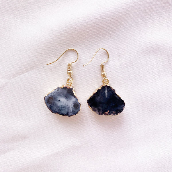 Wanderer Drop Earring - Smoke