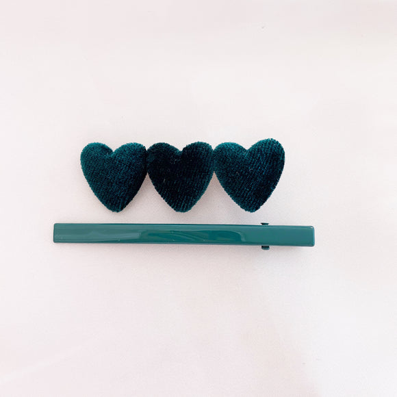 Hearts On Fire Clips - Emerald
