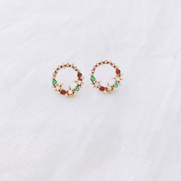Mini Studs - The Ring A Rosie One