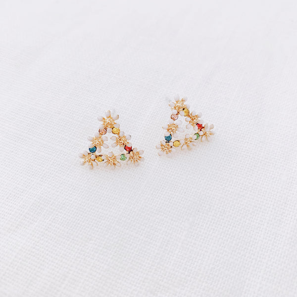 Mini Studs - The Triangle One