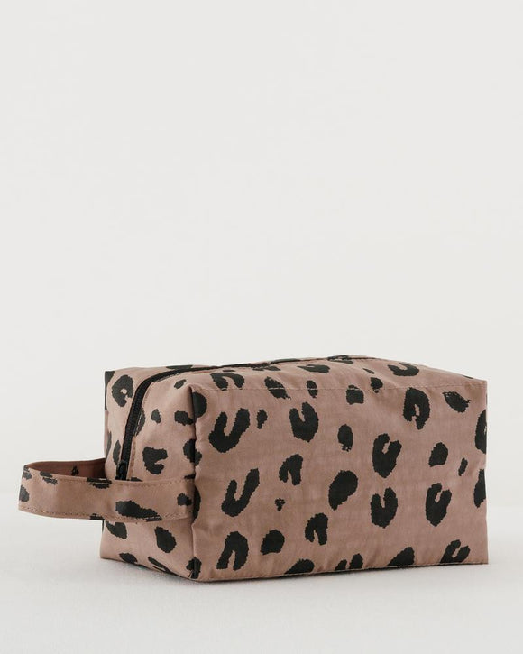 Dopp Kit - Leopard