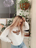 Wild At Heart Sweater - White