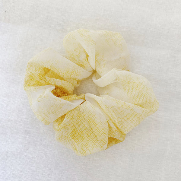 Summer Days Scrunchie - Lemon