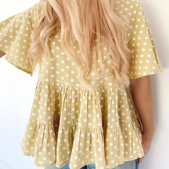 Darling Spotty Top