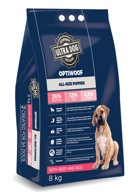 Ultradog Optiwoof All breed Puppy Beef and Rice Formula - The Vet Store Online