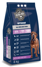 Load image into Gallery viewer, Ultradog Optiwoof Adult Beef and Rice formula - The Vet Store Online