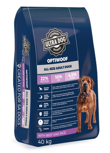 Ultradog Optiwoof Adult Beef and Rice formula - The Vet Store Online