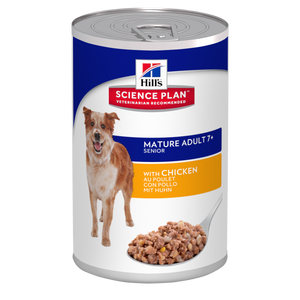 Hill's™ Science Plan™ Canine Mature Adult 7+ with Chicken Tin 370g - The Vet Store Online