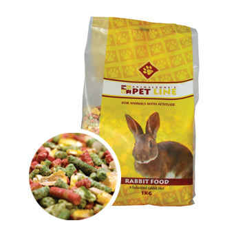 Rabbit Food, Animalzone 1kg - The Vet Store Online