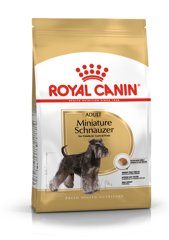 Royal Canin MINIATURE SCHNAUZER Adult - The Vet Store Online