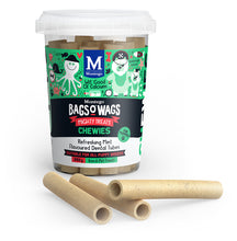 Load image into Gallery viewer, Montego BAGS O' WAGS  CHEWIES FOR PUPPIES 350g