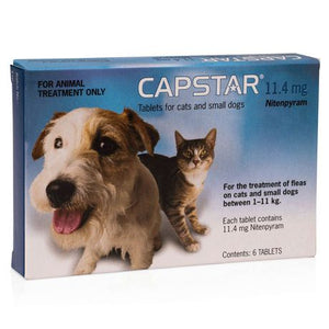 Capstar Flea Treatment (6 tablets per box) - The Vet Store Online