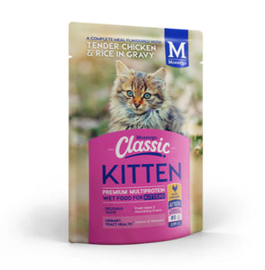 Montego Classic ALL BREED KITTEN Pouch (36x85g)