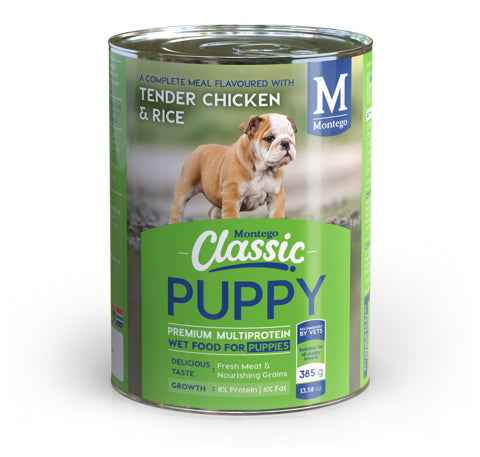 Montego Classic PUPPY Chicken (12 x 385g)