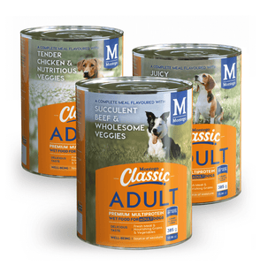 Montego Classic ADULT tin food