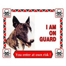 Load image into Gallery viewer, Sign, I Am On Guard - The Vet Store Online