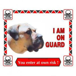 Sign, I Am On Guard - The Vet Store Online