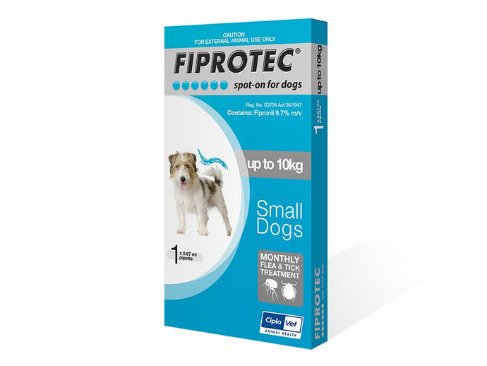 Fiprotec Tick and Flea treatment for dogs - The Vet Store Online