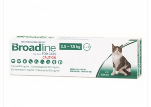 Broadline top spot for cats - The Vet Store Online