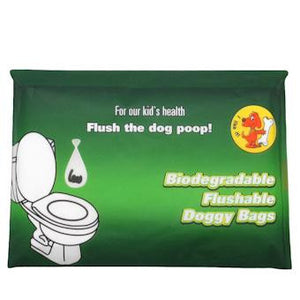 Poop Bags, Biodegradable in Tissue Pack - The Vet Store Online