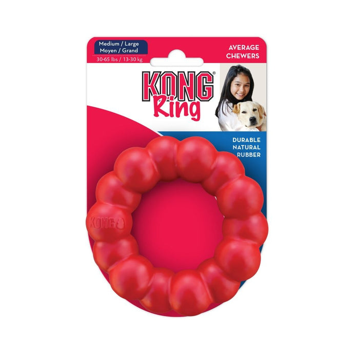 KONG Red Ring Chew Toy - The Vet Store Online