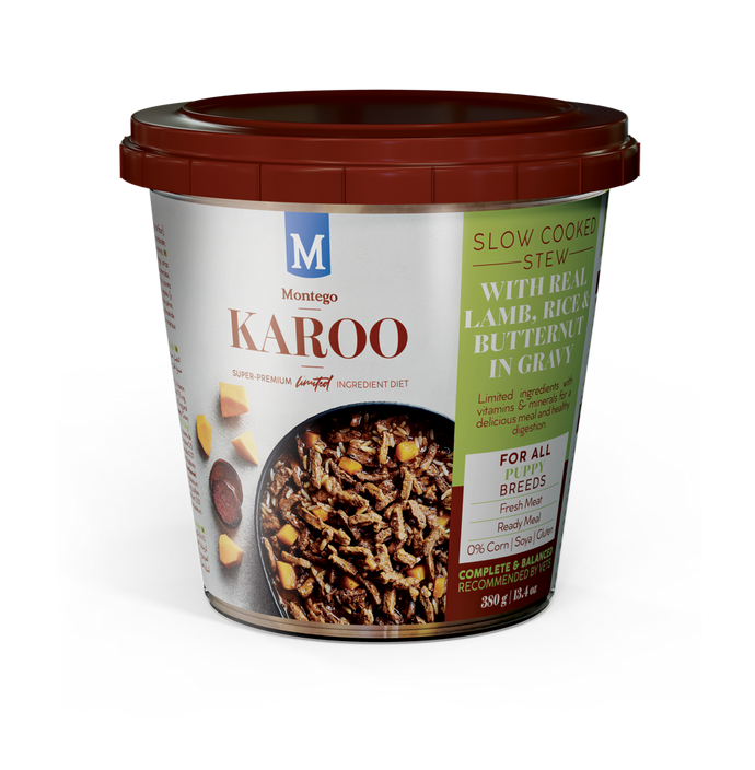 Montego Karoo ALL BREED PUPPY Stew (12x380g)