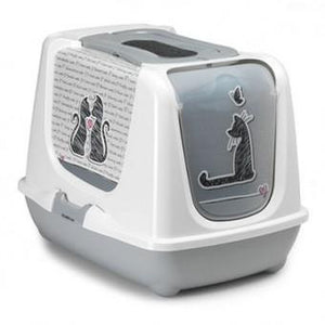 Toilet, Trendy Cats in Love Design - The Vet Store Online