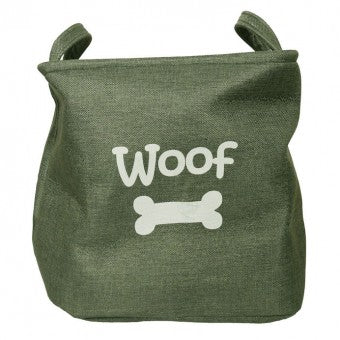 Forest Canvas Pet Toy Basket - The Vet Store Online