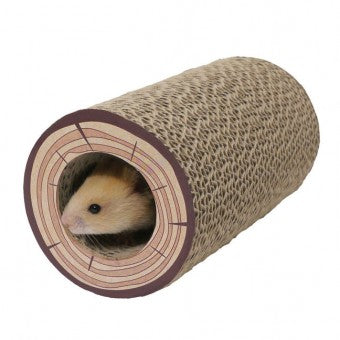 Rosewood Shred-A-Log Corrugated Tunnel - The Vet Store Online