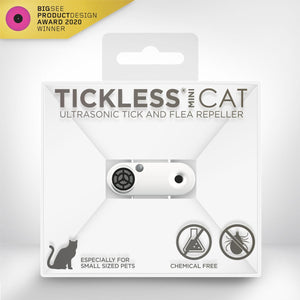 Tickless Ultrasonic Tick and Flea Repeller
