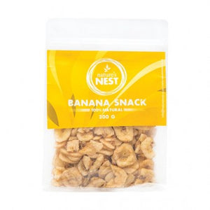 Nature's Nest Banana Snack 200g - The Vet Store Online