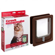 Load image into Gallery viewer, Cat / Dog flap - Door, Wood Fitting (Tunnel) - The Vet Store Online