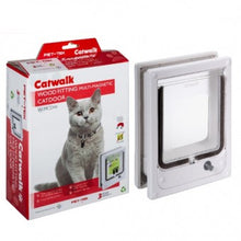 Load image into Gallery viewer, Cat / Mini Dog Flap - Door, Wood Fitting Multi-Magnetic - The Vet Store Online