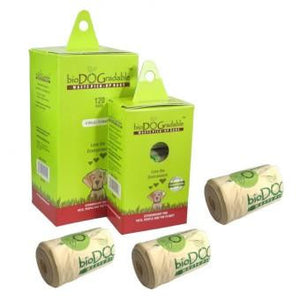 Poop Bags, Biodegradable (Compostable) - The Vet Store Online