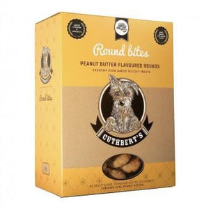 Cuthbert's Biscuits Rounds, Peanut Butter 1kg - The Vet Store Online