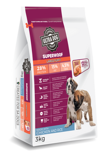 Ultradog Superwoof Large Breed Puppy Chicken and Rice Formula - The Vet Store Online