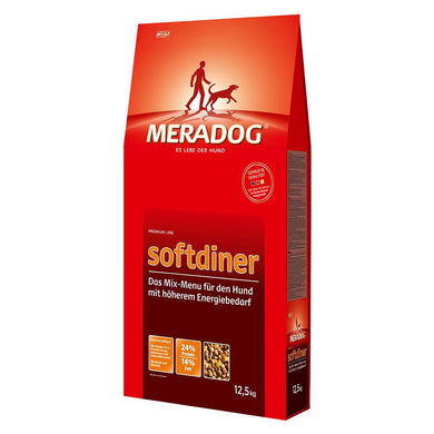Meradog Softdiner – Adult Increased Activity 12.5kg - The Vet Store Online
