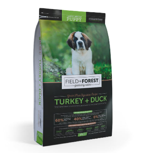 Montego Field and Forest Large Breed Puppy Turkey and Duck - The Vet Store Online
