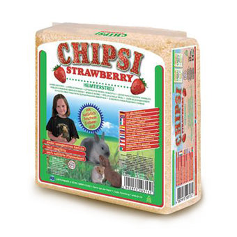 Bedding, Chipsi Strawberry 1.5L/1kg - The Vet Store Online