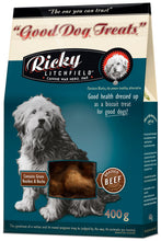 Load image into Gallery viewer, Ricky Litchfield Good Dog Treats 450g - The Vet Store Online