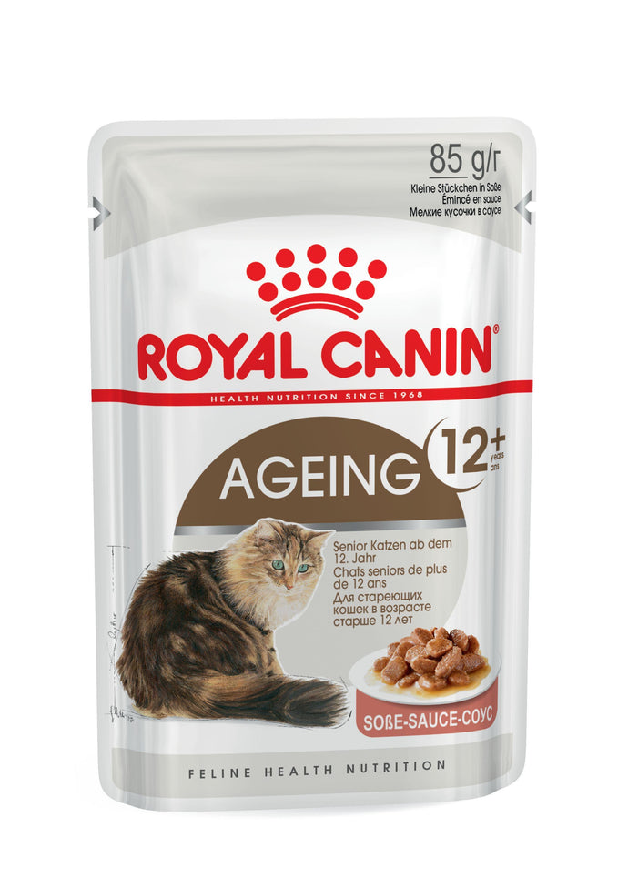 Royal Canin AGEING 12+ Gravy (Box 12 x 85g) - The Vet Store Online