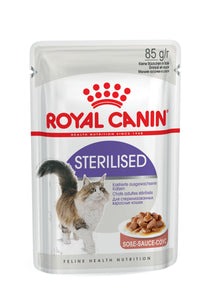 Royal Canin Sterilised Gravy pouch (12 x 85g) - The Vet Store Online