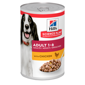 Hill's™ Science Plan™ Canine Adult with Chicken 370g Tin - The Vet Store Online